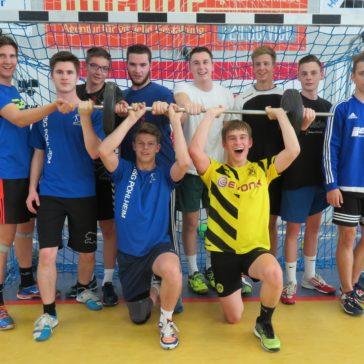 HSG Pohlheim richtet A Jungendqualifikationsturnier aus- Johannes ist wieder im Pohlheimer Team