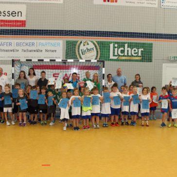 Pohlheimer Mini-Spielfest mit über 100 Kids ein voller Erfolg
