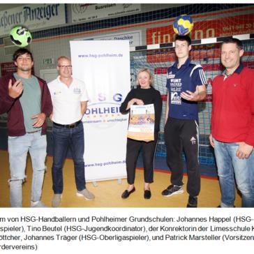 HSG Pohlheim geht in die Schule – Neue Wege bei Nachwuchssuche