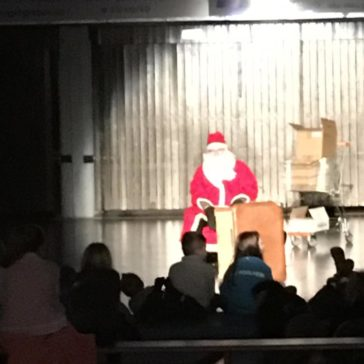Kinderweihnachtsfeier der HSG Pohlheim